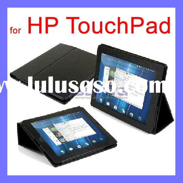 "Hot !!!Black Leather Cover Case 9.7"" for HP Touchpad Laptop Computer"