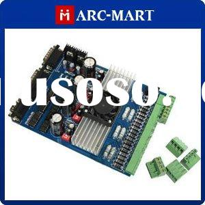 Top Quality!! 4 Axis Step Motor Driver (stepping motor driver) Board TB6560 Controller Stepper Drive