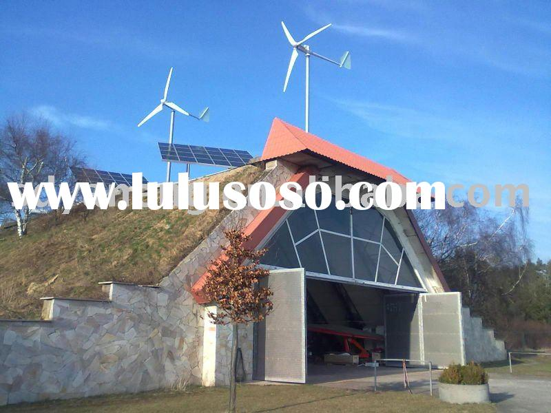 Wind power generator and solar hybrid system with CE