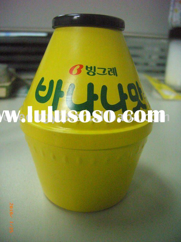 coin bank Yakult shaped special shape tin can money box