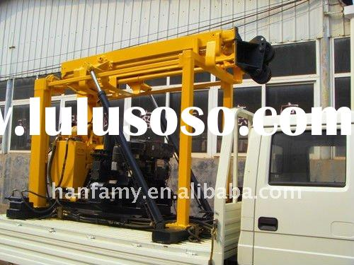 geophysical gold panning equipment, HFT200 truck-mounted drilling rig
