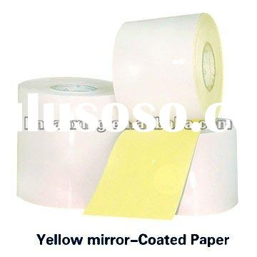 self adhesive paper in reel for label printing