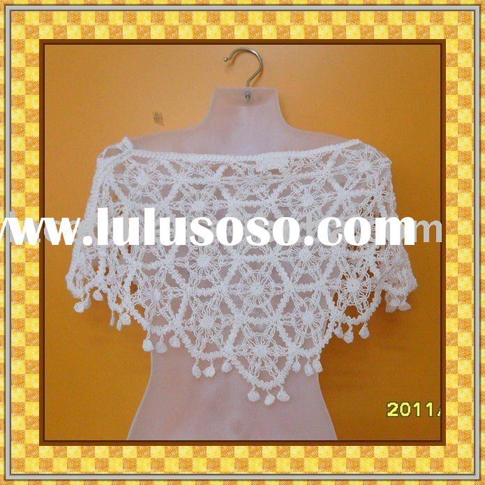 shawl/crochet lady shawl/top vest/vest/lady's vest/embroidery lace top dress