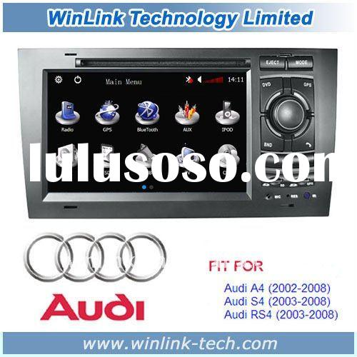 7 inch 2 Din Car Monitor For AUDI A4 S4 With Car DVD Player