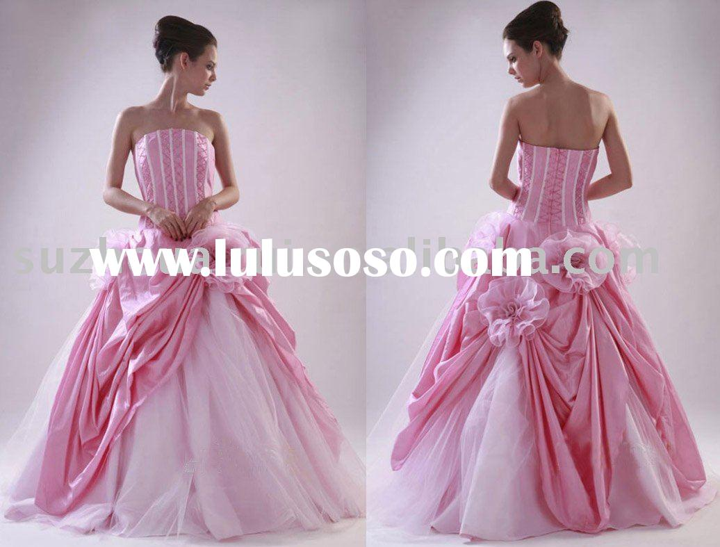Q0041 Tuck Quinceanera Dress Ball Gowns 2011 new style