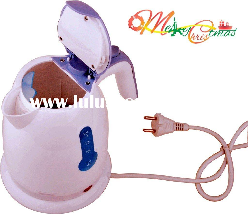 exquisite design mini plastic electric tea kettle set