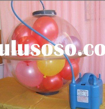 Balloon stuffing machine