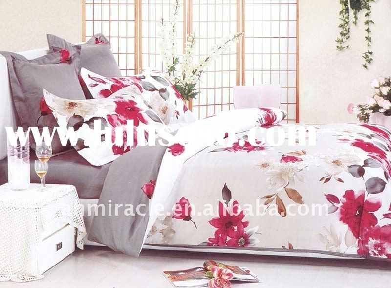 New design 100% cotton pink patchwork duvet cover