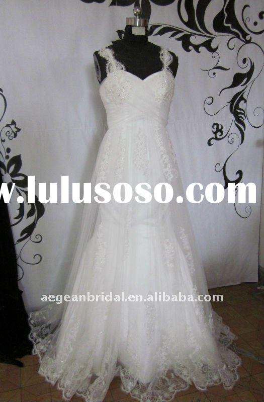 Royal sleeveless sweetheart neckline appliqued&beaded lace overlay mermaid wedding dress ZS-a015