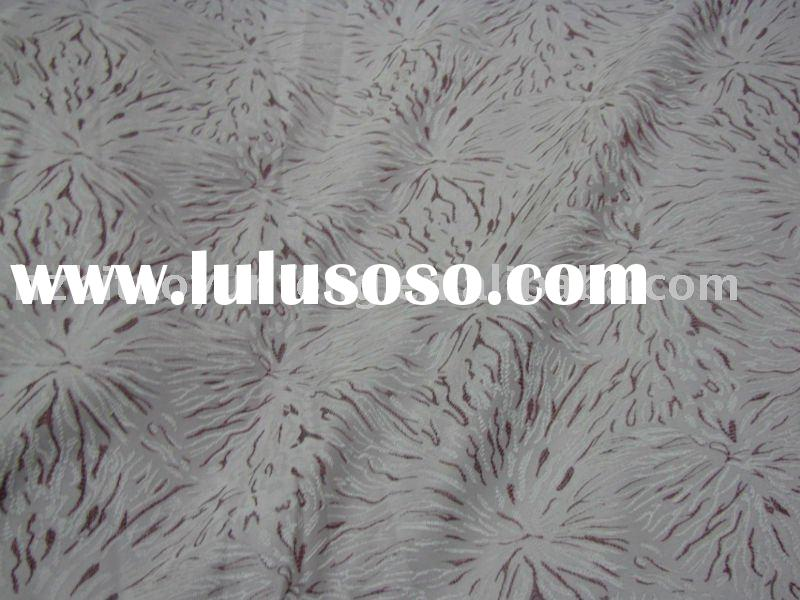 dyed jacquard curtain fabric T/R jacquard curtain fabric furnishing fabric(polyester&yarn dyed)