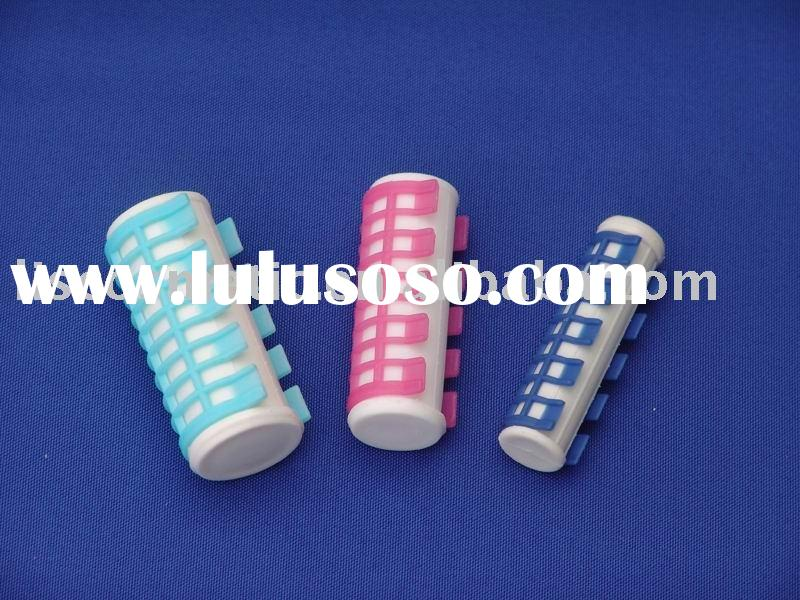 Hot water hair roller for faster hair curling