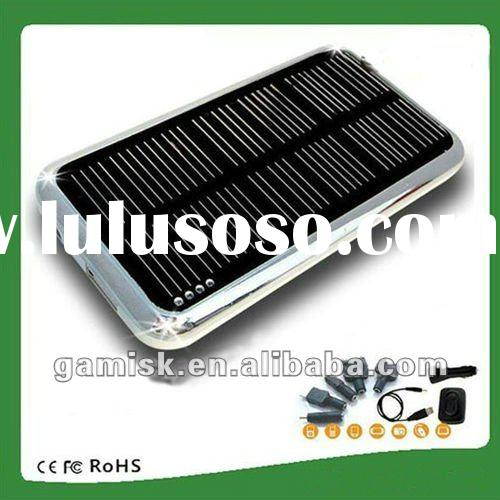 Portable Mobile Power Station Solar Battery Case Charger for Phone 4
