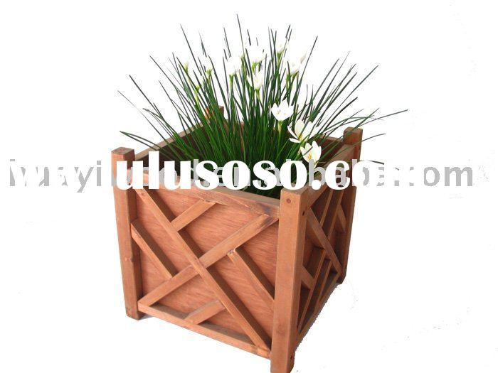 Wooden Planter Boxes, Wood Flower Boxes, Garden Planters