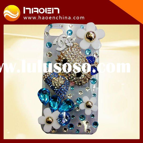 crystal diamond hello kitty case for iphone4
