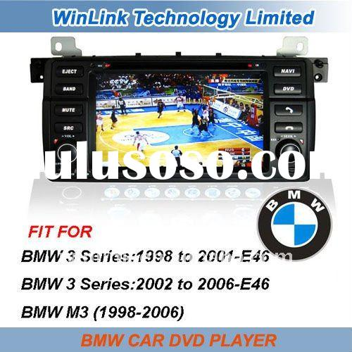 7 Inch Double Din Car DVD Player with gps for BMW E46 M3