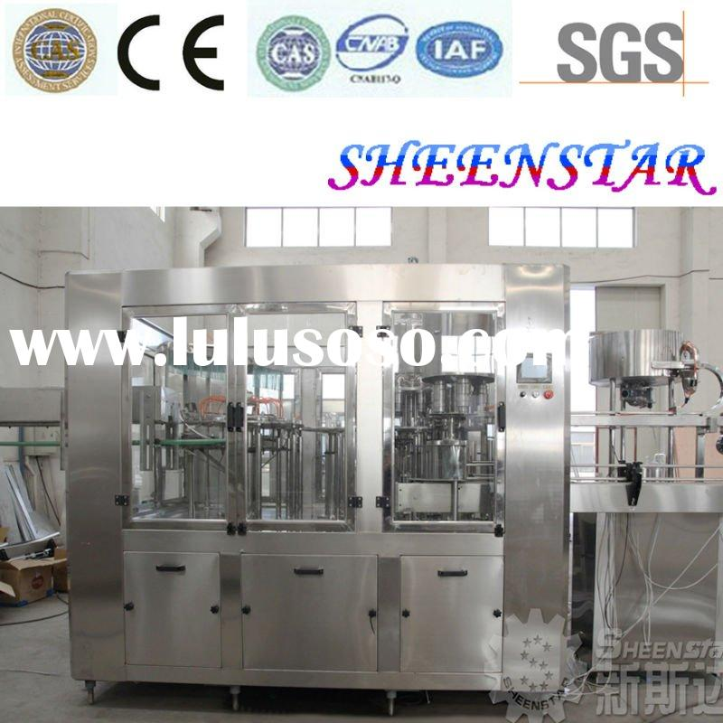 Automatic SUS 304 Pure Water Mineral Water Filling Machine