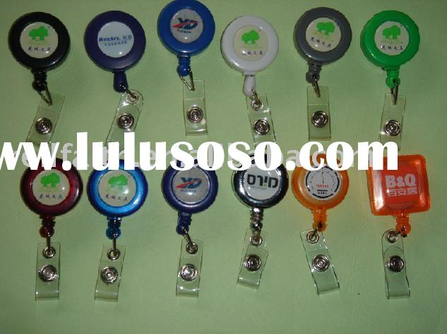 Promotional Retractable Badge Holder with Dome Imprint