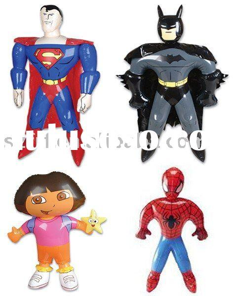inflatable superman,inflatable batman,inflatable spiderman,Inflatable Dora the Explorer