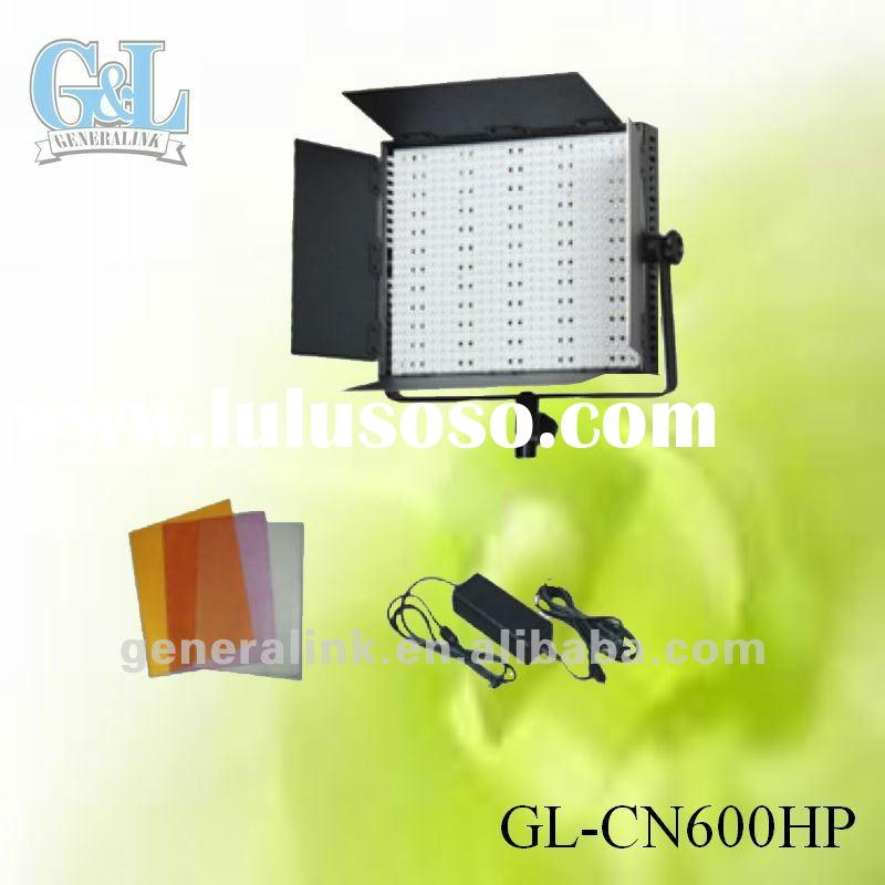 led broadcast light 3200k/5400k GL-CN600H/HS/HP