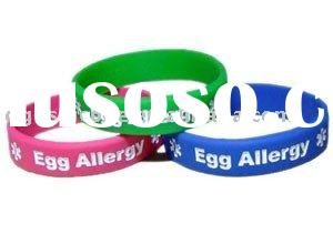 Custom design silicone bracelets,silicone bangles with debossed logo