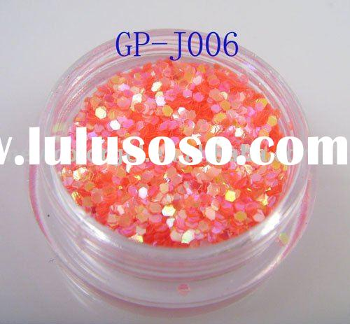 hexagonal laser 1/24-Inch glitter Acrylic powder for nail art decoration