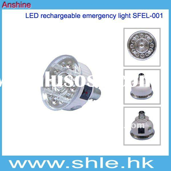 19 pcs ABS rechargeable led emergency light