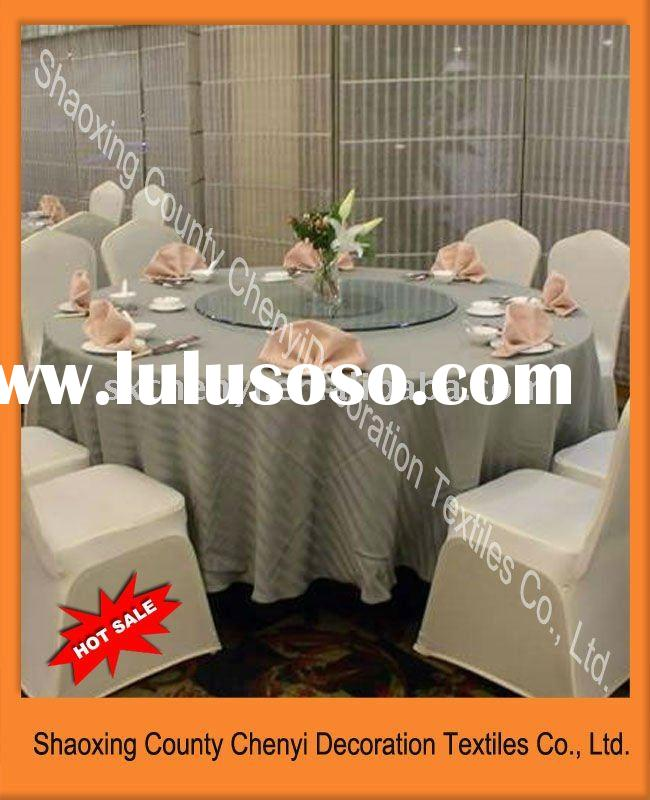 2011new Hot sale Polyester cotton decorative round table cloth