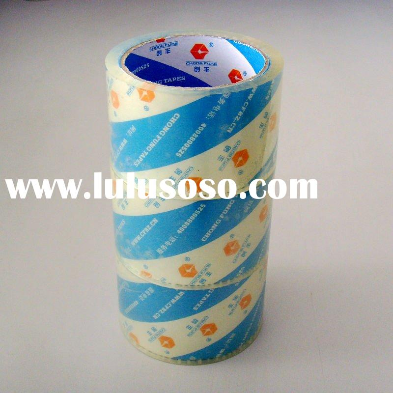 High Quality Low Price Carton Sealing Super Clear Film Tape Crystal BOPP Adhesive Tape