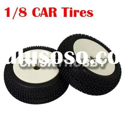 Remote control hobby parts/ cart parts 1:8 rc car tire