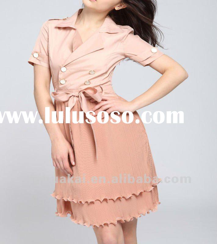 beautiful lady fashion dress korea summer dresses new fashion westernladies casual dresses pictures