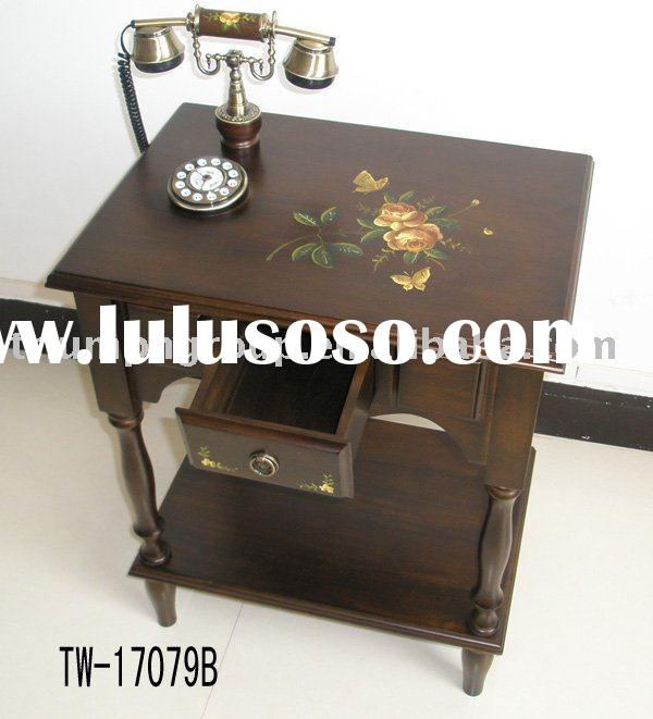 Antique telephone table