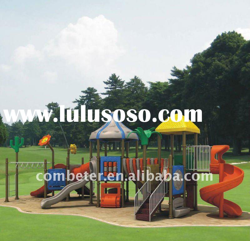 Outdoor playground slide/outdoor gym equipment/plastic park bench/climbing equipment/outdoor play ca