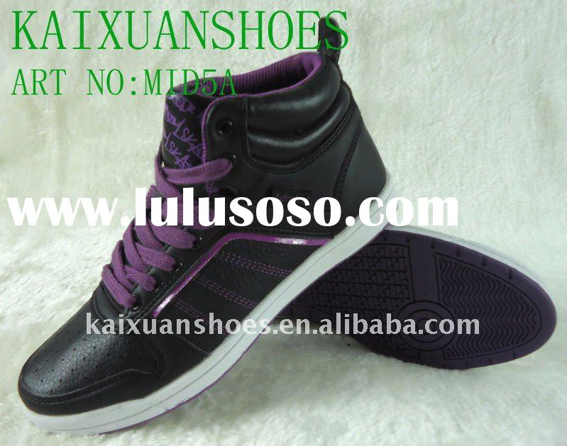 Popular women skate shoes,skate board,china shoes,mid-cut skate shoes,women's shoes,girl&
