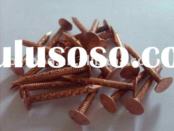 copper roofing nail(copper nail)
