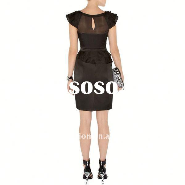 2012 Lady Evening fashion dresses for women Dress