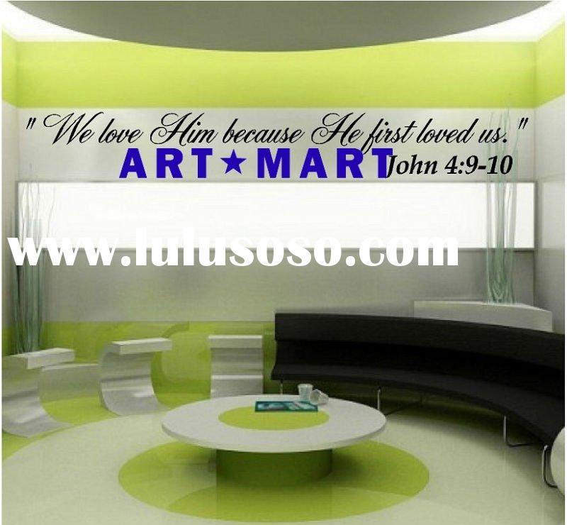 NICE BIBLE scripture quote Vinyl Wall Decal NO.144