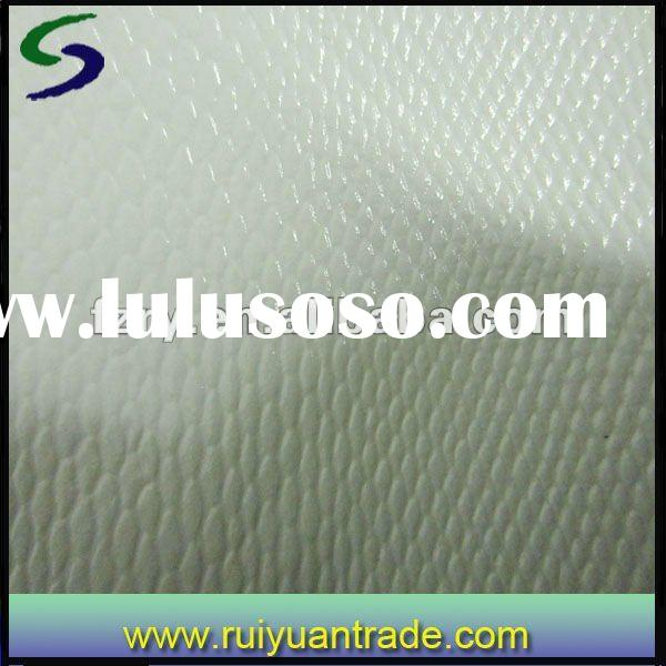 New Design Pattern PVC Faux White Snake leather