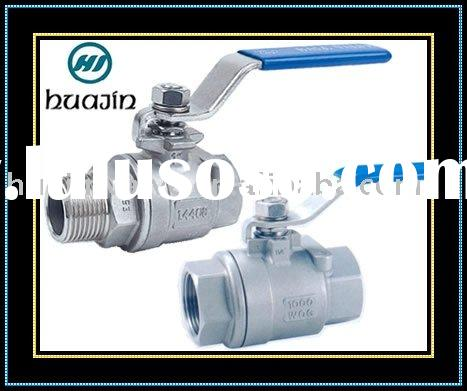 Stainless Steel Threaded Ball Valve NPT BSPT and so on