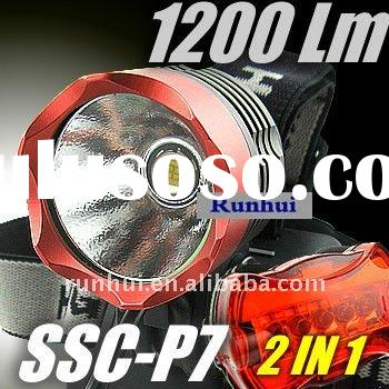Super Bright SSC P7 LED 1200Lumen Headlamp Headlight Bicycle Torch/Flashlight