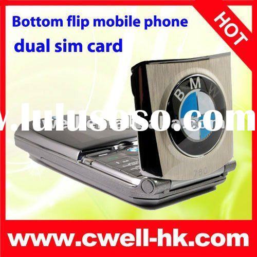 BMW 760 Car style dual sim card color screen mobile phone