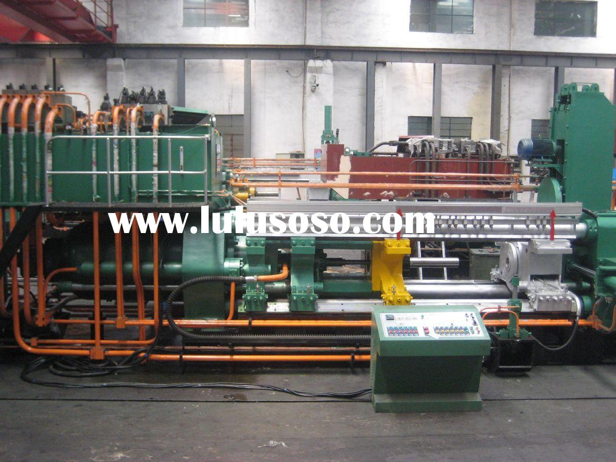 Double action copper extrusion press