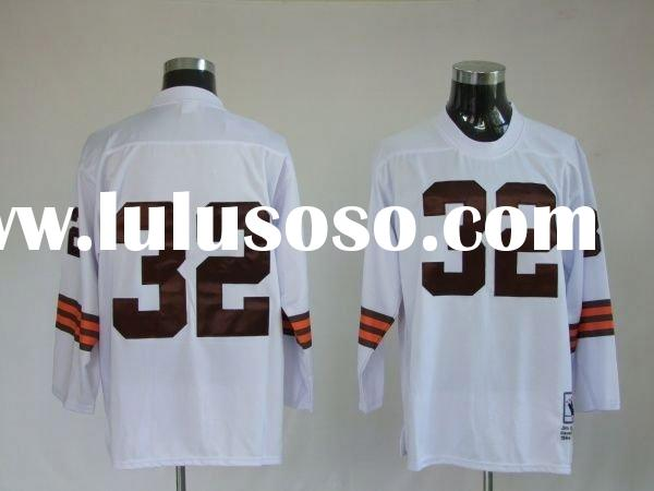 Cleveland Browns Jerseys 32 Jim Brown Jerseys Wholesale Top Quality