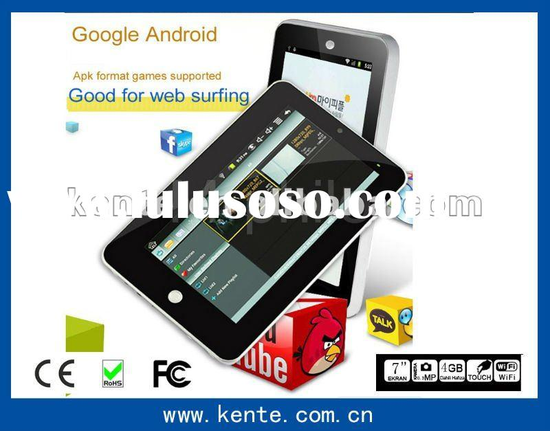 CE google Android 7 inch MID WIFI super pad tablet pc android 2.3