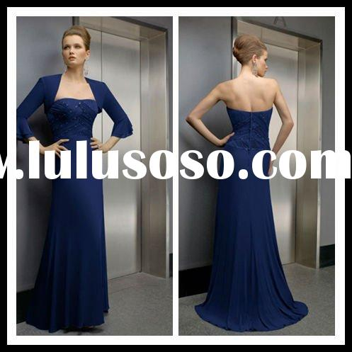 Royal blue formal evening dress 2012
