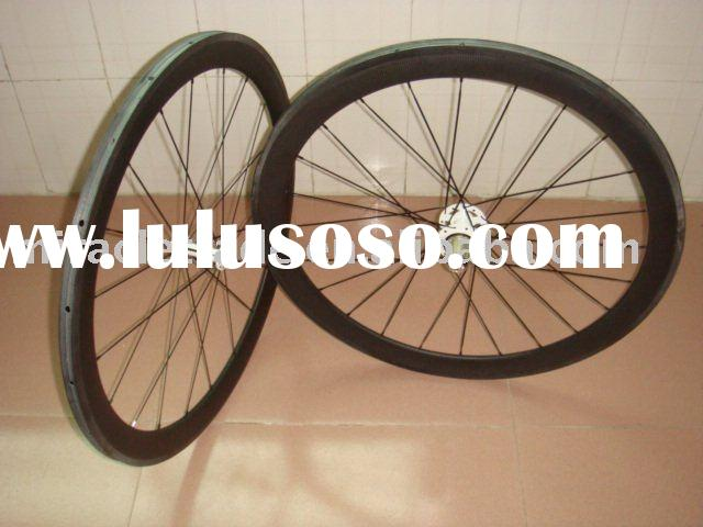 Hot sale Toray carbon 60mm clincher wheelset