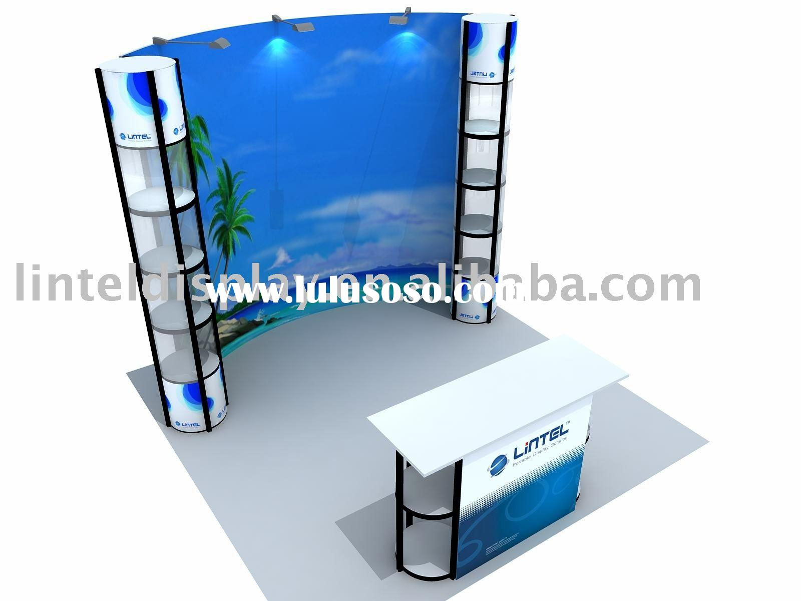 Portable Exhibition Booth Display Standard Booth (LT-ZH005)