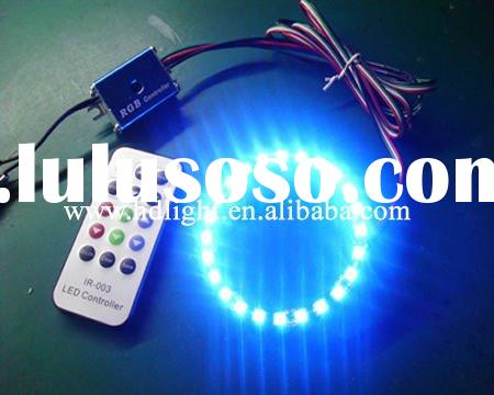 led angel eyes 40mm 60mm 70mm 80mm 90mm 100mm 110mm Green red blue