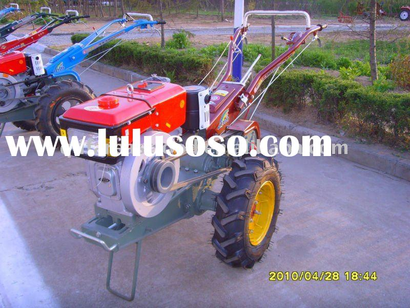 12hp diesel engine farm walking tractor with electric start
