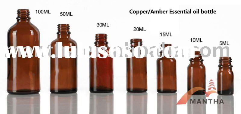 5ML 10ML,15ML 30ML Amber Essential oil bottle Glass Bottle