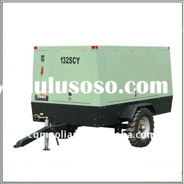 Cummins 6 BT Diesel Engine Drive Mobile Air Compressor